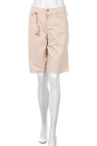Дамски къс панталон Anna Montana, Размер L, Цвят Розов, 97% памук, 3% еластан, Цена 24,99лв.