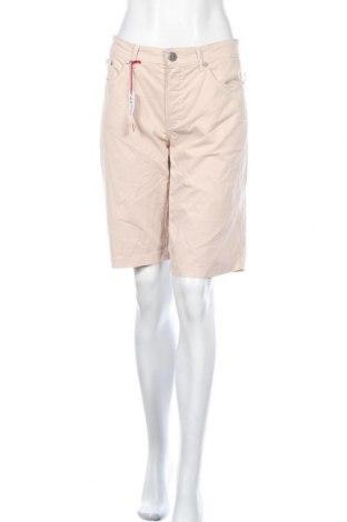 Дамски къс панталон Anna Montana, Размер XL, Цвят Розов, 97% памук, 3% еластан, Цена 29,40лв.