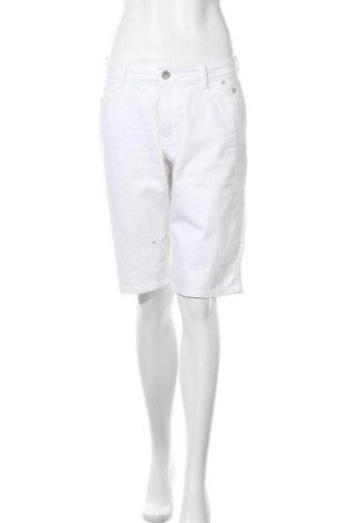 Γυναικείο κοντό παντελόνι Bonita, Μέγεθος M, Χρώμα Λευκό, 98% βαμβάκι, 2% ελαστάνη, Τιμή 11,69€