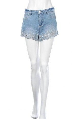 Γυναικείο κοντό παντελόνι Denim Co, Μέγεθος M, Χρώμα Μπλέ, 67% βαμβάκι, 24% βισκόζη, 9% πολυεστέρας, Τιμή 7,47€