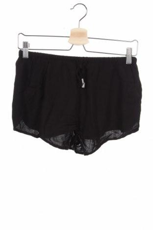 Дамски къс панталон H&M Divided, Размер M, Цвят Черен, Вискоза, Цена 15,12лв.