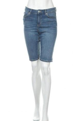 Γυναικείο κοντό παντελόνι H&M L.O.G.G., Μέγεθος M, Χρώμα Μπλέ, 99% βαμβάκι, 1% ελαστάνη, Τιμή 16,89€