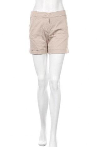 Дамски къс панталон Hallhuber, Размер S, Цвят Бежов, 65% памук, 32% полиамид, 3% еластан, Цена 24,48лв.