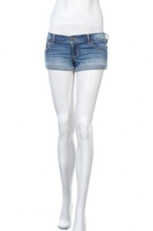 Γυναικείο κοντό παντελόνι Hollister, Μέγεθος S, Χρώμα Μπλέ, 98% βαμβάκι, 2% ελαστάνη, Τιμή 8,18€