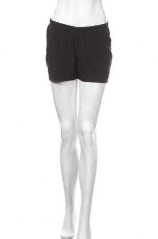 Дамски къс панталон Kalenji, Размер S, Цвят Черен, 88% полиестер, 12% еластан, Цена 13,44лв.