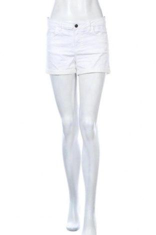 Дамски къс панталон Lh By La  Halle, Размер M, Цвят Бял, 58% памук, 38% полиестер, 4% еластан, Цена 18,48лв.