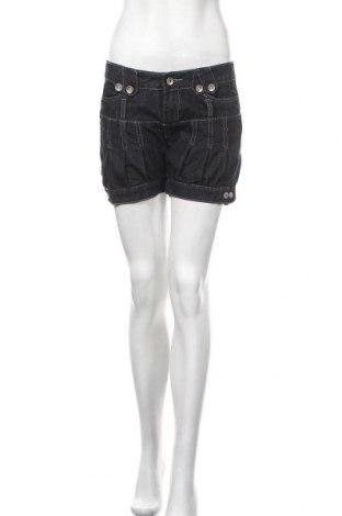 Γυναικείο κοντό παντελόνι Vert De Rage, Μέγεθος M, Χρώμα Μπλέ, 75% βαμβάκι, 25% ελαστάνη, Τιμή 6,82€