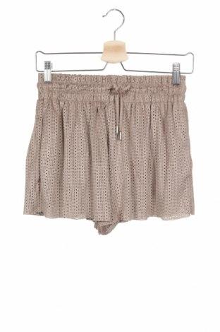 Γυναικείο κοντό παντελόνι Zara Trafaluc, Μέγεθος XS, Χρώμα  Μπέζ, Πολυεστέρας, Τιμή 5,54€