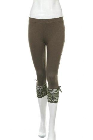 Γυναικείο κολάν Vert De Rage, Μέγεθος M, Χρώμα Πράσινο, 90% βισκόζη, 10% ελαστάνη, Τιμή 3,64€