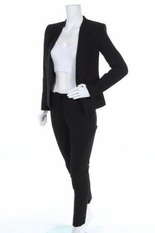 Дамски костюм H&M, Размер S, Цвят Черен, 63% полиестер, 33% вискоза, 4% еластан, Цена 66,75лв.