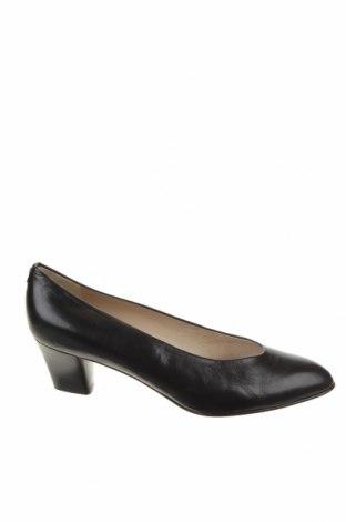 Γυναικεία παπούτσια Bally, Μέγεθος 37, Χρώμα Μαύρο, Γνήσιο δέρμα, Τιμή 55,40€