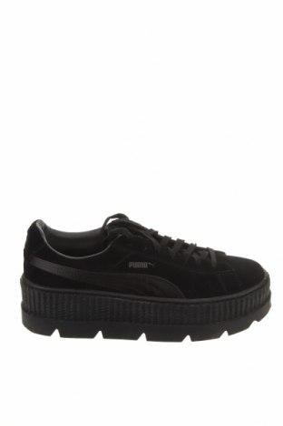 Дамски обувки Fenty Puma by Rihanna, Размер 42, Цвят Черен, Естествен велур, Цена 87,04лв.