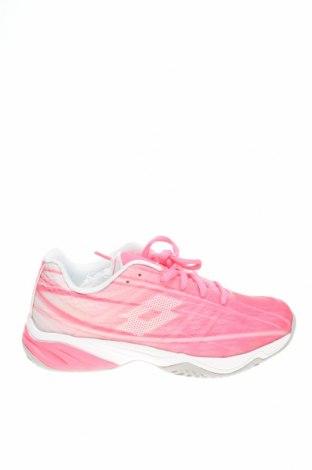 Дамски обувки Lotto, Размер 37, Цвят Розов, Текстил, еко кожа, Цена 33,82лв.