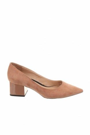 Дамски обувки Zara, Размер 37, Цвят Розов, Еко кожа, Цена 41,25лв.