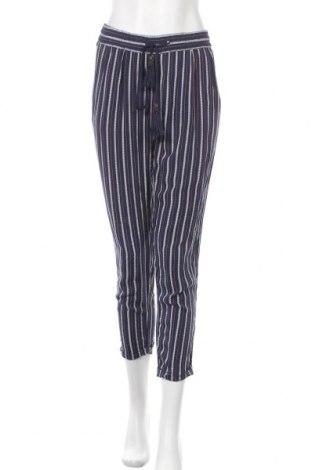 Дамски панталон Anany, Размер S, Цвят Син, Вискоза, Цена 18,38лв.