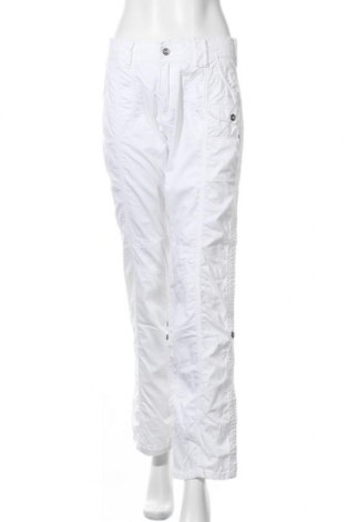 Γυναικείο παντελόνι Artime, Μέγεθος L, Χρώμα Λευκό, Βαμβάκι, Τιμή 14,36€