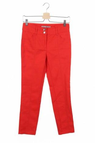 Дамски панталон Ashley Brooke, Размер XS, Цвят Червен, 48% памук, 45% полиестер, 7% еластан, Цена 14,18лв.