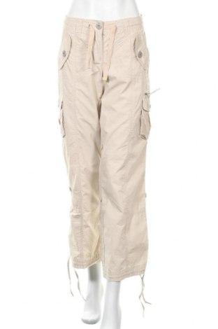 Дамски панталон B.C. Best Connections, Размер M, Цвят Бежов, Памук, Цена 27,30лв.