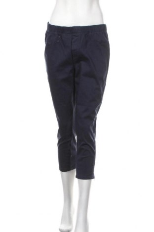 Дамски панталон Biaggini, Размер L, Цвят Син, 98% памук, 2% еластан, Цена 14,49лв.