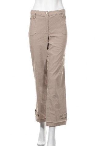 Дамски панталон Bpc Bonprix Collection, Размер M, Цвят Бежов, 70% полиестер, 25% вискоза, 5% еластан, Цена 3,00лв.