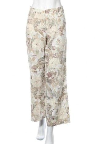 Дамски панталон Brax, Размер L, Цвят Многоцветен, Лен, Цена 39,90лв.