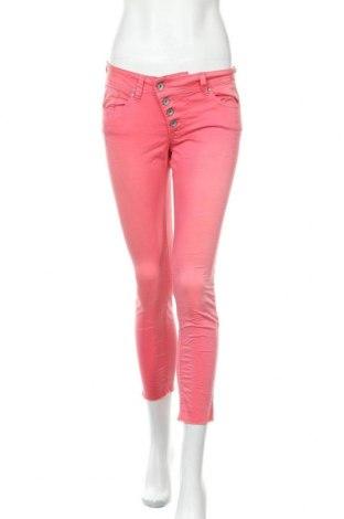 Γυναικείο παντελόνι Buena Vista, Μέγεθος S, Χρώμα Ρόζ , 98% βαμβάκι, 2% ελαστάνη, Τιμή 5,46€