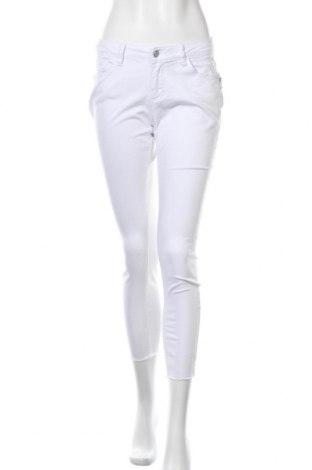 Γυναικείο παντελόνι Buena Vista, Μέγεθος S, Χρώμα Λευκό, 98% βαμβάκι, 2% ελαστάνη, Τιμή 13,45€