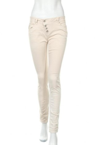 Γυναικείο παντελόνι Buena Vista, Μέγεθος S, Χρώμα Εκρού, 98% βαμβάκι, 2% ελαστάνη, Τιμή 12,70€