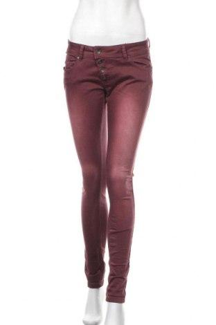 Γυναικείο παντελόνι Buena Vista, Μέγεθος S, Χρώμα Κόκκινο, 98% βαμβάκι, 2% ελαστάνη, Τιμή 14,62€