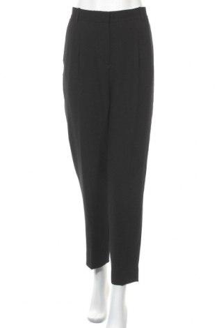 Дамски панталон COS, Размер L, Цвят Черен, 97% полиестер, 3% еластан, Цена 37,49лв.