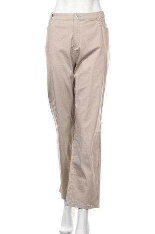 Γυναικείο παντελόνι Charles Vogele, Μέγεθος XXL, Χρώμα  Μπέζ, 98% βαμβάκι, 2% ελαστάνη, Τιμή 13,51€
