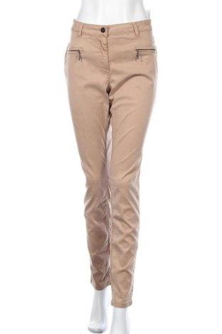 Γυναικείο παντελόνι Comma,, Μέγεθος XL, Χρώμα Καφέ, 66% lyocell, 32% βαμβάκι, 2% ελαστάνη, Τιμή 29,88€