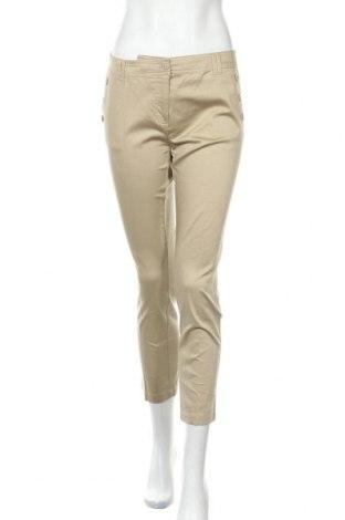 Γυναικείο παντελόνι Defacto, Μέγεθος M, Χρώμα  Μπέζ, 98% βαμβάκι, 2% ελαστάνη, Τιμή 10,46€
