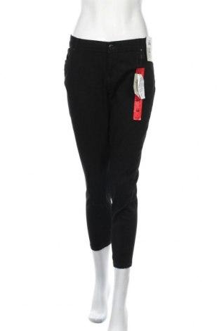 Γυναικείο παντελόνι Denim Co, Μέγεθος XL, Χρώμα Μαύρο, 65% βαμβάκι, 21% πολυεστέρας, 12% βισκόζη, 2% ελαστάνη, Τιμή 26,89€