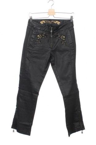 Γυναικείο παντελόνι Desigual, Μέγεθος M, Χρώμα Μαύρο, 98% βαμβάκι, 2% ελαστάνη, Τιμή 12,27€