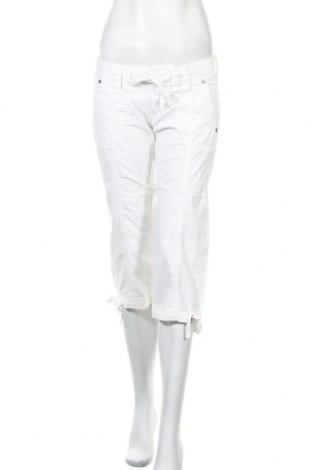 Γυναικείο παντελόνι Edc By Esprit, Μέγεθος M, Χρώμα Λευκό, 55% λινό, 45% βαμβάκι, Τιμή 16,66€