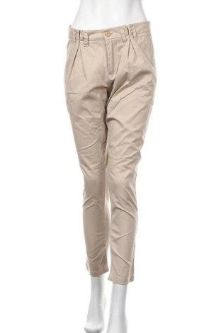 Γυναικείο παντελόνι Ellos, Μέγεθος M, Χρώμα  Μπέζ, Βαμβάκι, Τιμή 13,45€