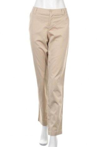 Γυναικείο παντελόνι Flg, Μέγεθος M, Χρώμα  Μπέζ, 97% βαμβάκι, 3% ελαστάνη, Τιμή 6,37€