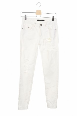 Γυναικείο παντελόνι Gestuz, Μέγεθος S, Χρώμα Λευκό, 97% βαμβάκι, 3% ελαστάνη, Τιμή 18,51€