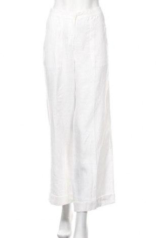 Γυναικείο παντελόνι H&M L.O.G.G., Μέγεθος M, Χρώμα Λευκό, Λινό, Τιμή 18,19€