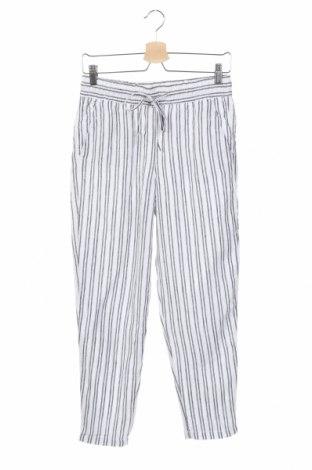 Γυναικείο παντελόνι H&M L.O.G.G., Μέγεθος XS, Χρώμα Λευκό, Λινό, Τιμή 14,03€