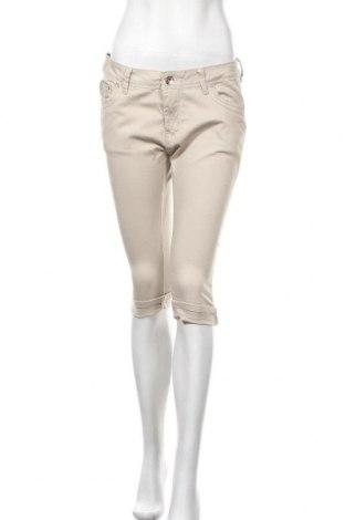 Γυναικείο παντελόνι Hydee by Chicoree, Μέγεθος M, Χρώμα  Μπέζ, 98% βαμβάκι, 2% ελαστάνη, Τιμή 18,70€
