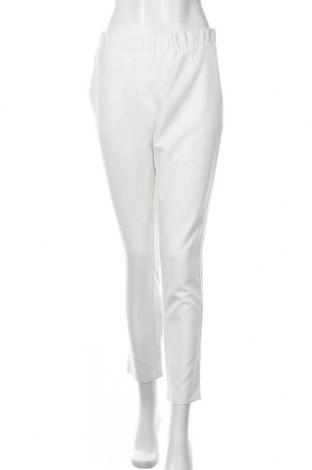 Γυναικείο παντελόνι Imperial, Μέγεθος L, Χρώμα Λευκό, 94% πολυεστέρας, 6% ελαστάνη, Τιμή 16,96€