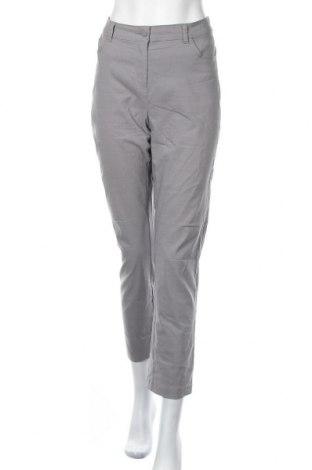 Γυναικείο παντελόνι Iwie, Μέγεθος L, Χρώμα Γκρί, 70% βισκόζη, 26% πολυαμίδη, 4% ελαστάνη, Τιμή 5,91€