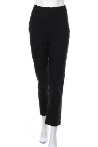 Γυναικείο παντελόνι Iwie, Μέγεθος L, Χρώμα Μαύρο, 70% βισκόζη, 26% πολυαμίδη, 4% ελαστάνη, Τιμή 16,01€