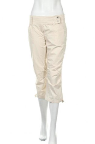 Γυναικείο παντελόνι Kenvelo, Μέγεθος L, Χρώμα Εκρού, Βαμβάκι, Τιμή 12,28€
