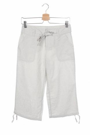 Γυναικείο παντελόνι La Redoute, Μέγεθος XS, Χρώμα Γκρί, 55% λινό, 45% βαμβάκι, Τιμή 17,54€