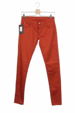 Γυναικείο παντελόνι Le Temps Des Cerises, Μέγεθος XS, Χρώμα Πορτοκαλί, 97% βαμβάκι, 3% ελαστάνη, Τιμή 15,69€