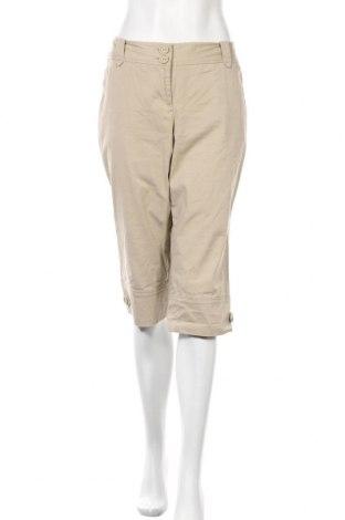 Γυναικείο παντελόνι Loft By Ann Taylor, Μέγεθος L, Χρώμα  Μπέζ, 98% βαμβάκι, 2% ελαστάνη, Τιμή 19,02€