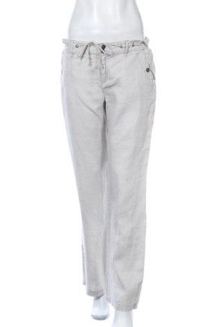 Дамски панталон Maddison, Размер L, Цвят Бежов, Лен, Цена 25,20лв.